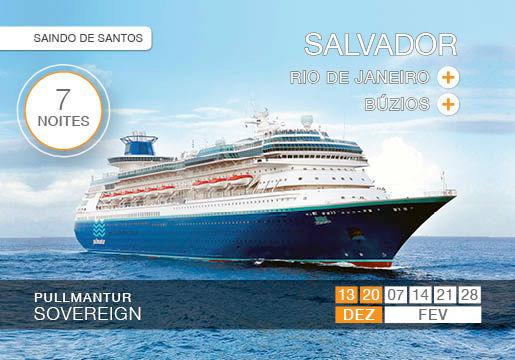 Cruzeiro ALL INCLUSIVE + OPEN BAR para SALVADOR !