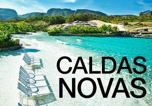 RÉVEILLON em CALDAS NOVAS: Aéreo + Hotel + Meia Pensão