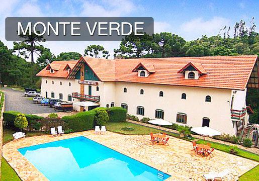Monte Verde com DATA GARANTIDA: Diária p/ Casal + Café