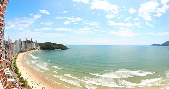 Principais praias de Balneário Camboriú