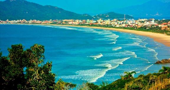 Principais praias de Bombinhas