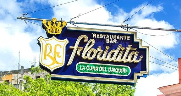 Bar La Floridita em Havana