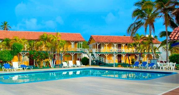 Hotel Sol Caribe Campo em San Andrés