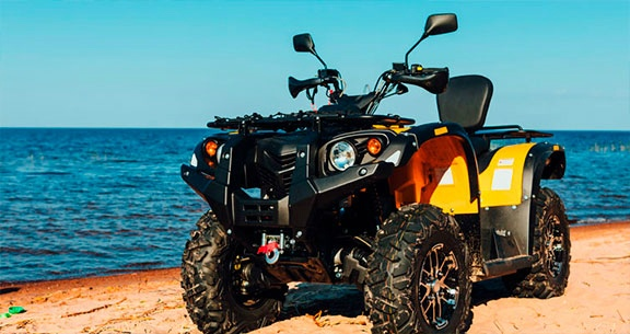 Tour Off Road com Quadriciclo
