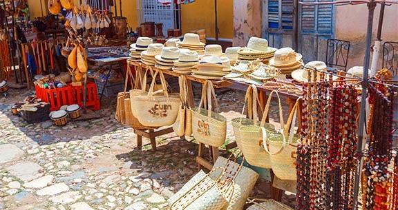Feira de artesanato de Trinidad