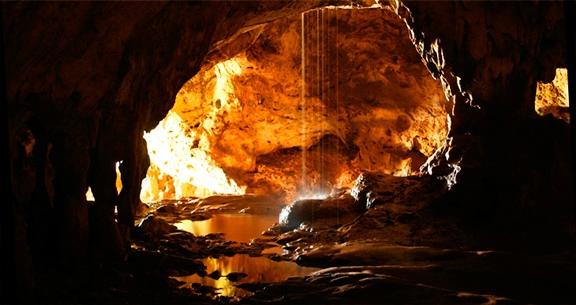 Cavernas em Aruba