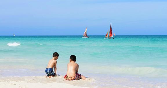 Crianças em Cuba