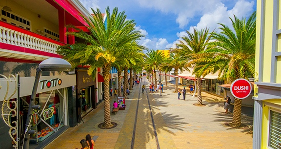 Compras em Aruba