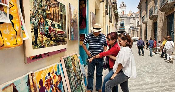Arte nas rua de Havana