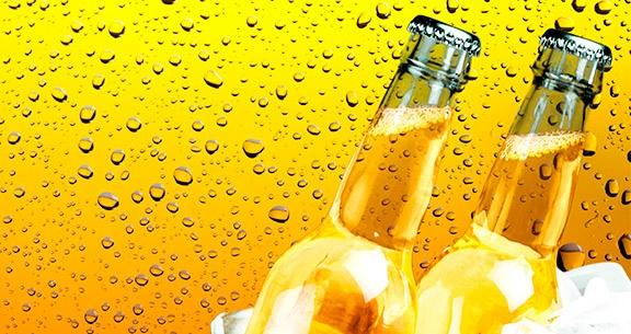 Cerveja feita com água do mar?