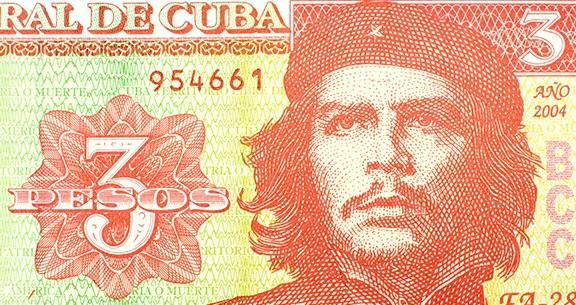 Moedas em Cuba