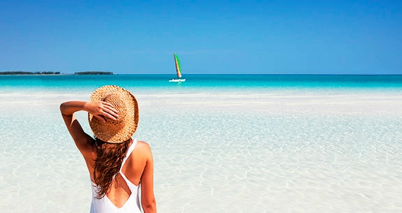 Vista praia Cayo Guillermo