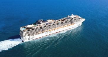 Ilhas do Caribe saindo de MIAMI no LUXUOSO MSC Divina!