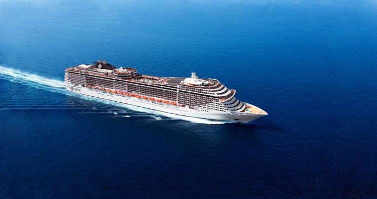 Cruzeiro a bordo LUXUOSO MSC Splendida: Mar Mediterrâneo!