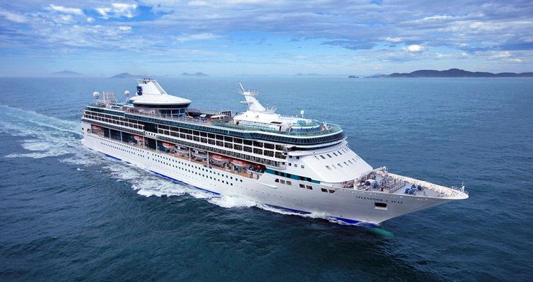 TOP: De SANTOS para BARCELONA no Splendour Of The Seas