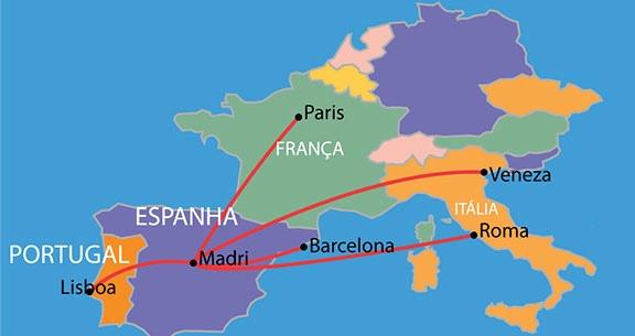 Europa + Ásia FLEX: Monte o Pacote dos Seus SONHOS!