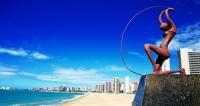CEARÁ 2 em 1: Aéreo + Fortaleza + Cumbuco