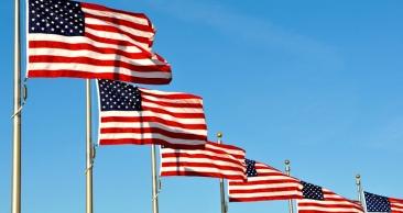 Promoção de aéreo para os Estados Unidos.
