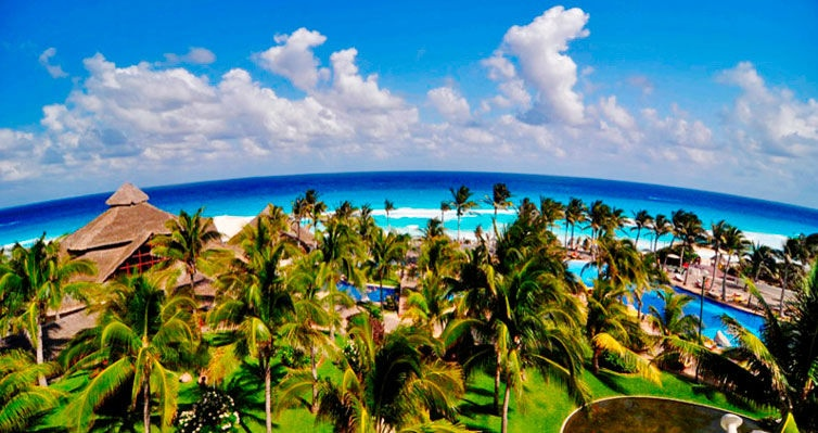 CANCUN com ALL INCLUSIVE e OPEN BAR + Aéreo + Seguro