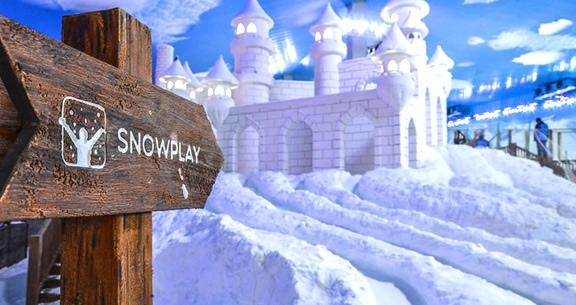 INCRÍVEL! Aéreo + 4 Noites + SNOWLAND + BUSTOUR