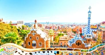 18 Noites: Vá de Avião para BARCELONA e volte de NAVIO