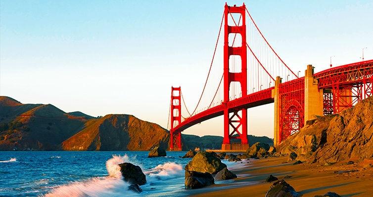 COSTA OESTE: Los Angeles + San Francisco + Las Vegas