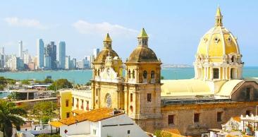 Cartagena + San Andres com Incrível Mar de 7 Cores!