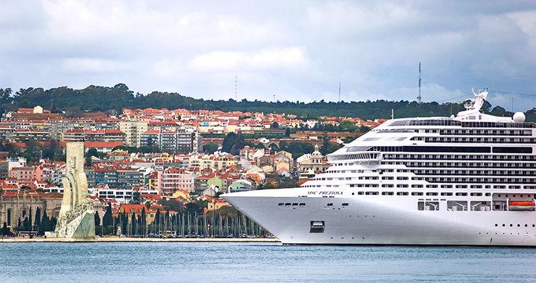 Travessia ITÁLIA > BRASIL (Santos) no MSC Preziosa