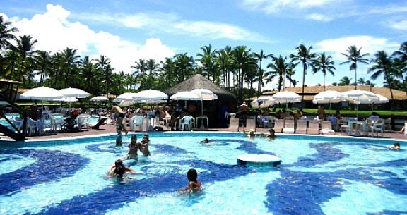 ILHÉUS com ALL INCLUSIVE + OPEN BAR em Resort TOP!