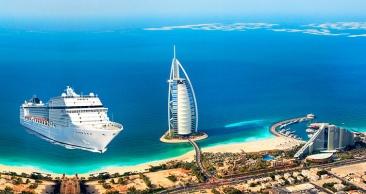 11 Noites nos Emirados Arábes: Cruzeiro + Hotel em DUBAI