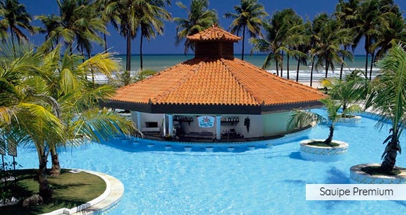 COSTA  do SAUÍPE SOL PREMIUM: 4 Noites c/ ALL INCLUSIVE!!