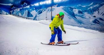 NEVE na Serra Gaúcha: Aéreo + 4 Noites + Snowland!