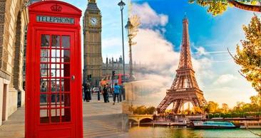 LONDRES + PARIS: Aéreo + Travessia pelo Canal da Mancha