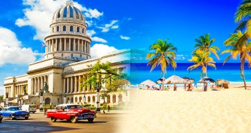 10 Noites: CUBA + Ilhas do CARIBE com Cruzeiro MSC