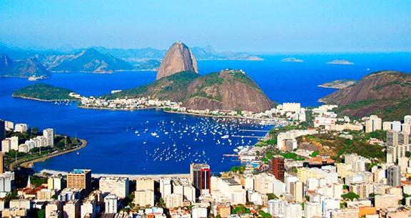 RIO DE JANEIRO: Aéreo + 2 Noites em Copacabana com Café