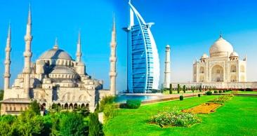 13 NOITES: ISTAMBUL, ÍNDIA e DUBAI com Passeios!