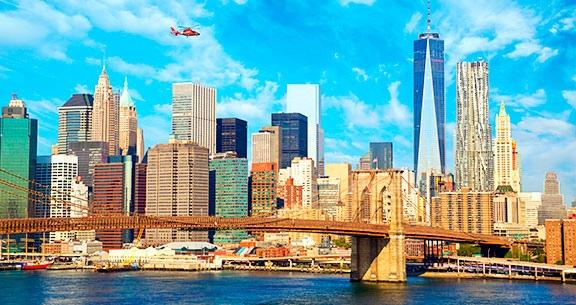 NOVA YORK: Aéreo + 6 Noites em até 50% OFF!