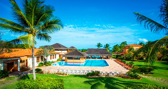 RESORT 5*Sta Cruz Cabralia: Aéreo + 05nts + ALL INCLUSIVE
