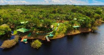 AMAZÔNIA COMPLETA: Aéreo + Passeios + HOTEL NA SELVA