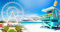 11 Nts: MIAMI + ORLANDO + Cruzeiro nas Bahamas OPEN BAR