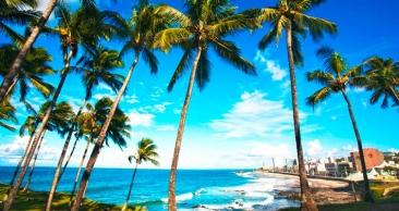 Salvador + Ilha de Boipeba: Aéreo + 4 Noites com Café!
