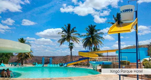 07 nts: ARACAJÚ + XINGO com ALL INCLUSIVE + OPEN BAR