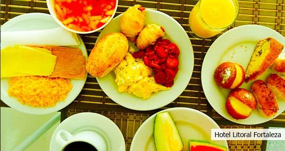 FORTALEZA: 5 Noites com Café da Manhã + PRAIA de CUMBUCO!