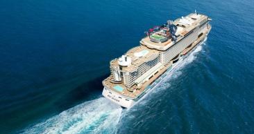 OPORTUNIDADE: Natal a bordo do NOVÍSSIMO MSC SEAVIEW