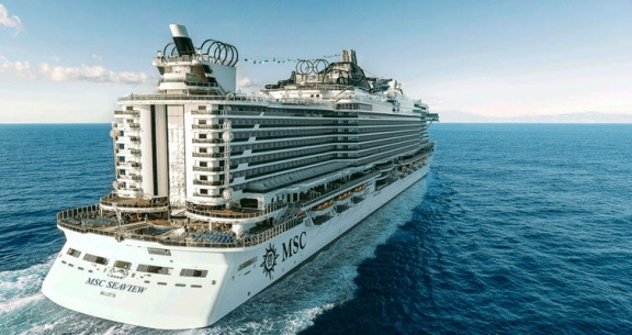 OPORTUNIDADE: Natal a bordo do INCRÍVEL MSC SEAVIEW