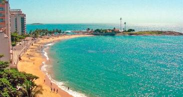 Conheça as Lindas Praias de GUARAPARI! 3 Noites c/ CAFÉ!