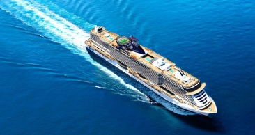 Travessia no MSC SEAVIEW, o mais NOVO navio da MSC em 10x