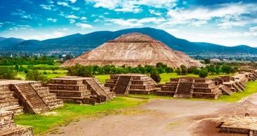 CIDADE DO MÉXICO: 4 Noites com Zona Arqueológica e mais!!
