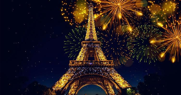 17Nts: Comemore o Natal em ROMA e o Réveillon em PARIS