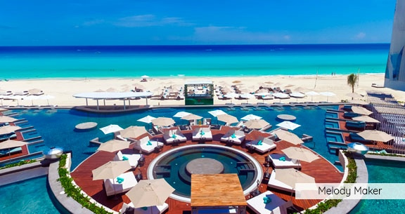 CANCUN 5 ESTRELAS com All Inclusive + OPEN BAR!!
